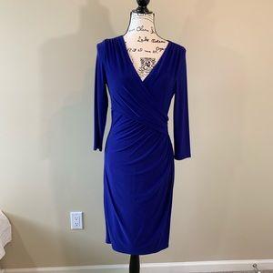 NWOT Ralph Lauren Faux Wrap Dress size 6